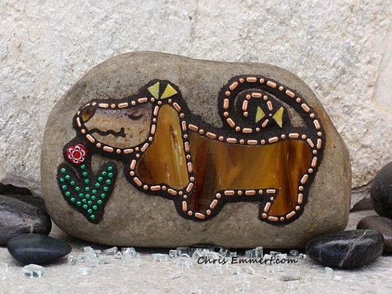 Chris Emmert Mosaic - I love his work! Love a dog - found on etsy!