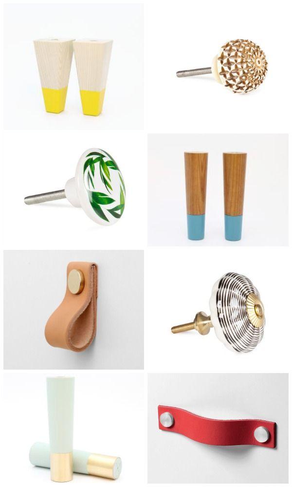 Ikea hacks diy de muebles ikea con tiradores y patas - Patas para muebles ikea ...