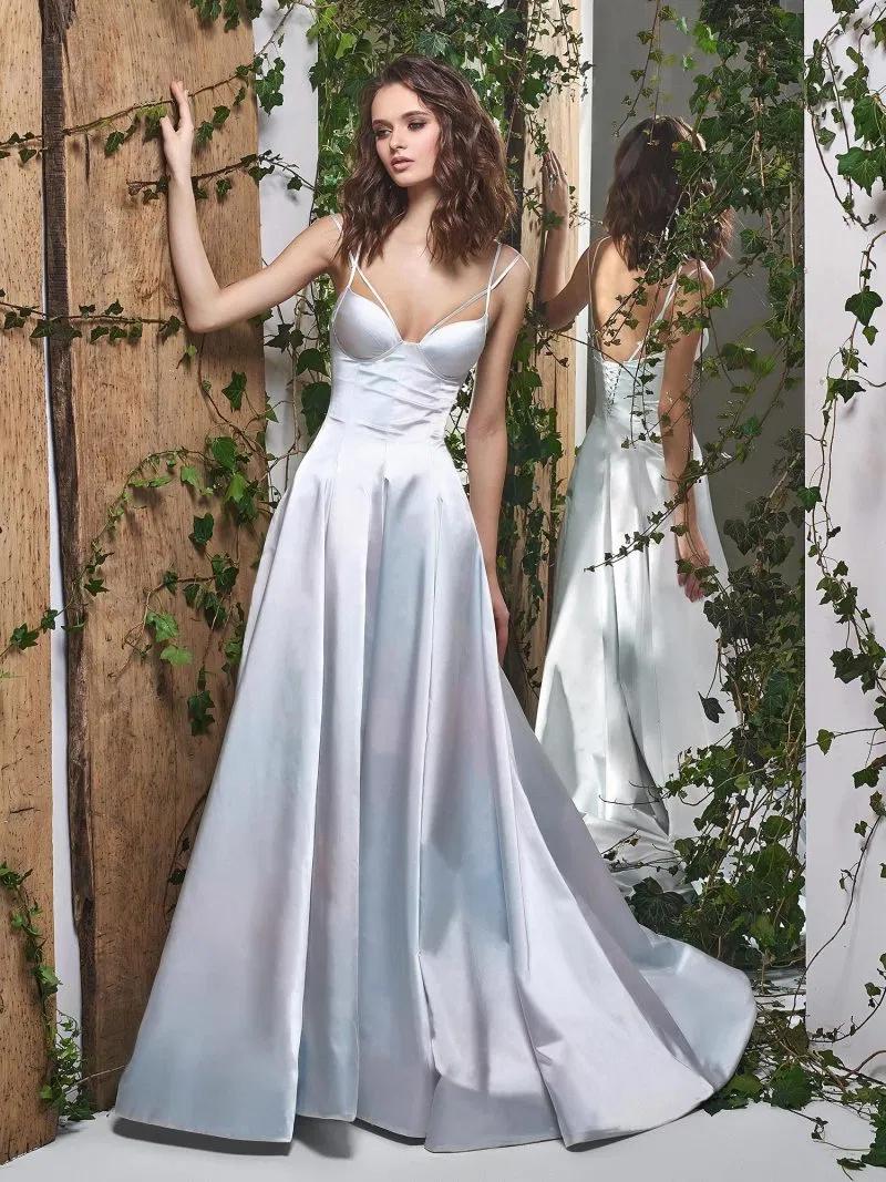 Papilio Corset style Aline wedding dress with double