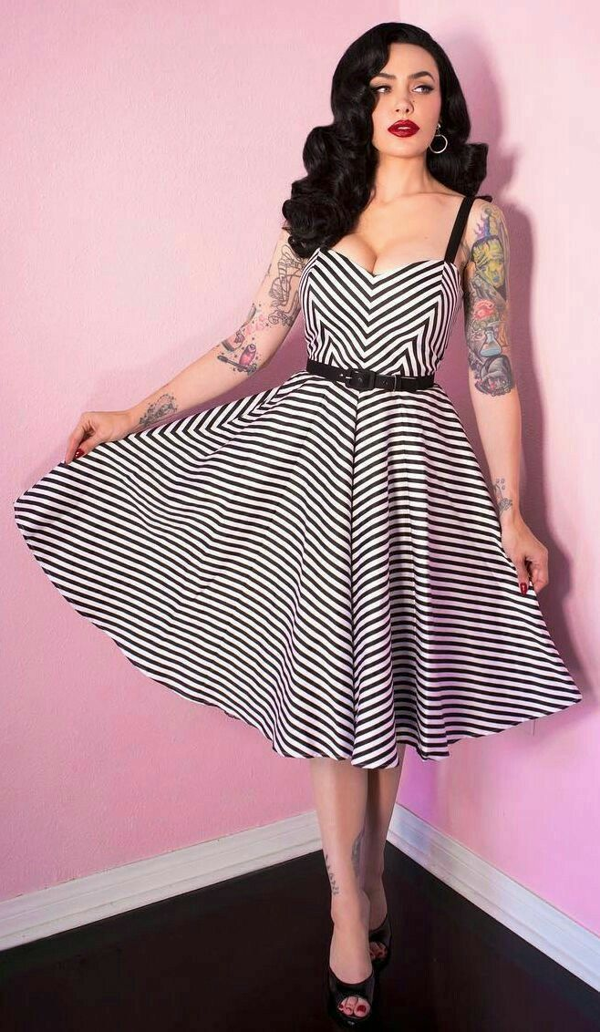 super populaire 18340 ce461 Rockabilly | Vintage | Mode femme, Pin up rétro et Rockabilly