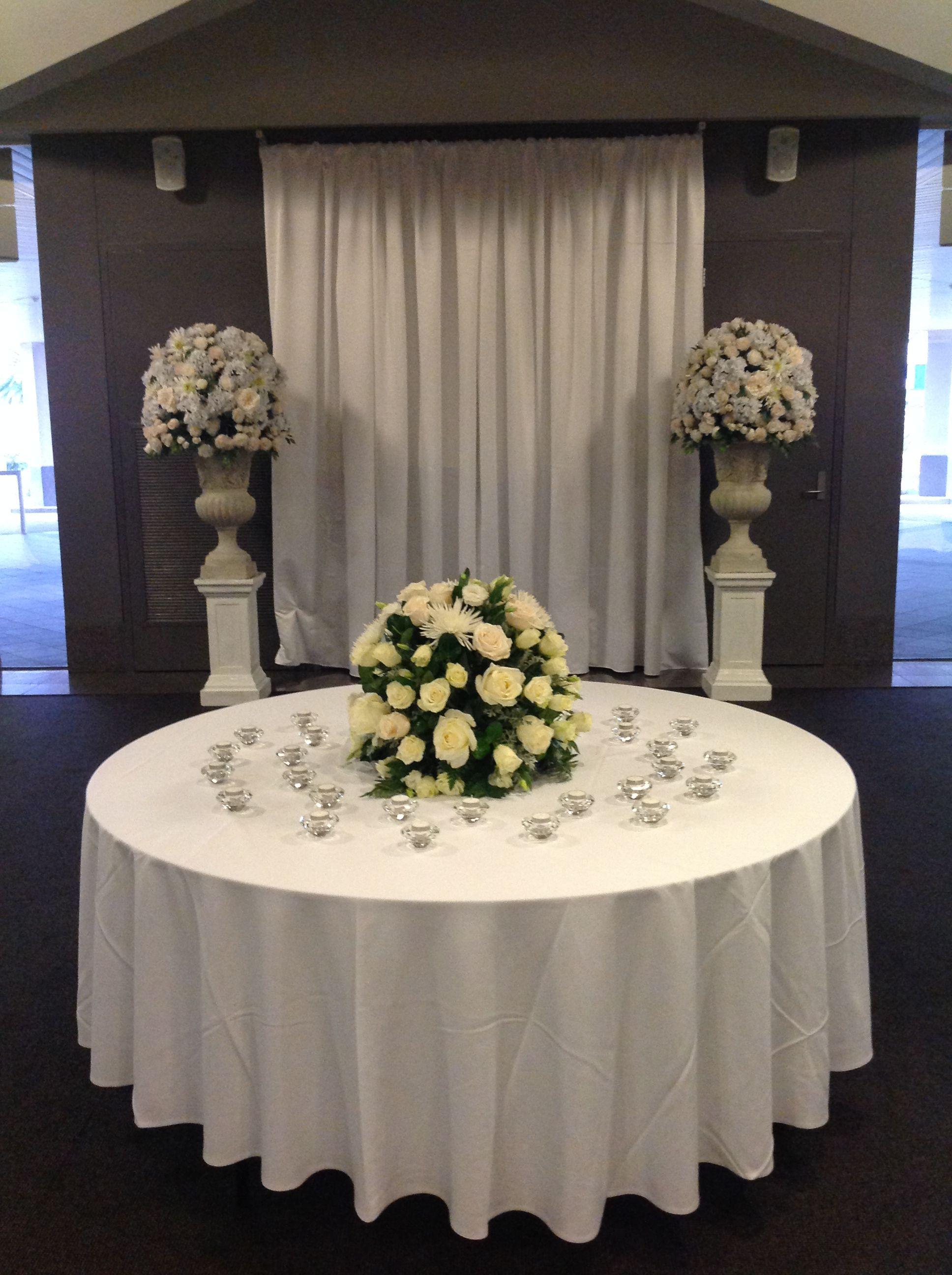 Foyer Decoration Of Donato Reception Centre In Adelaide Www