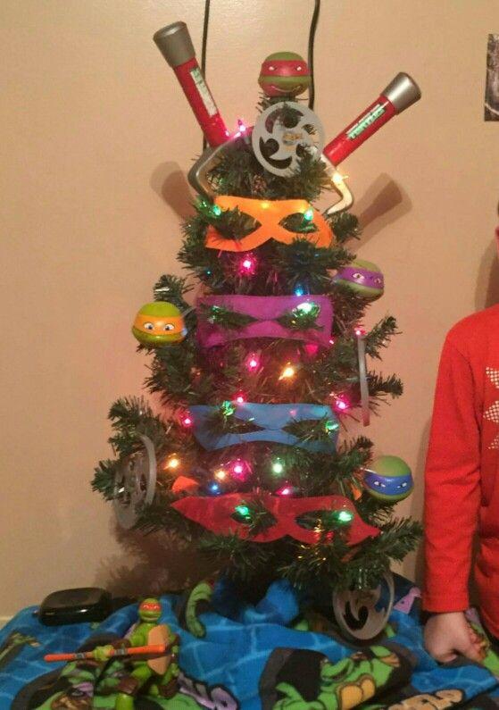 Ninja Turtle Christmas Tree.Ninja Turtle Christmas Tree Created By Luke Christmas