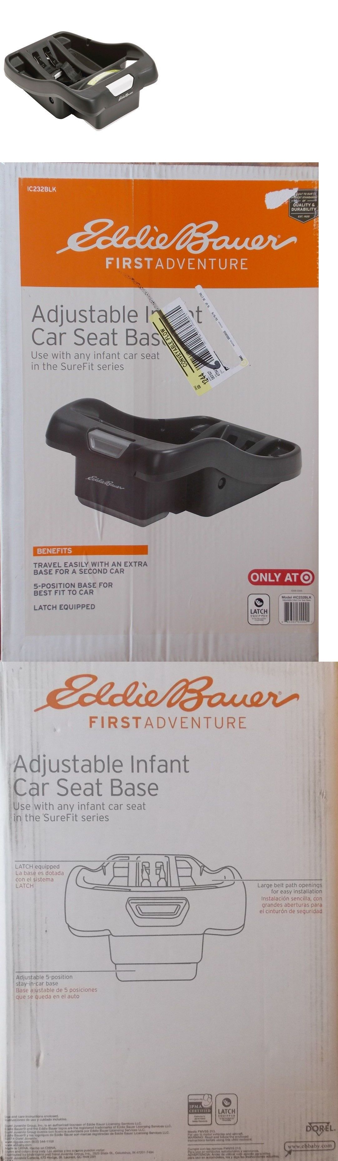 Other Car Safety Seats 2987 New Eddie Bauer First Adventure Adjustable Seat Base For Surefit Series BUY IT NOW ONLY 3995 On EBay