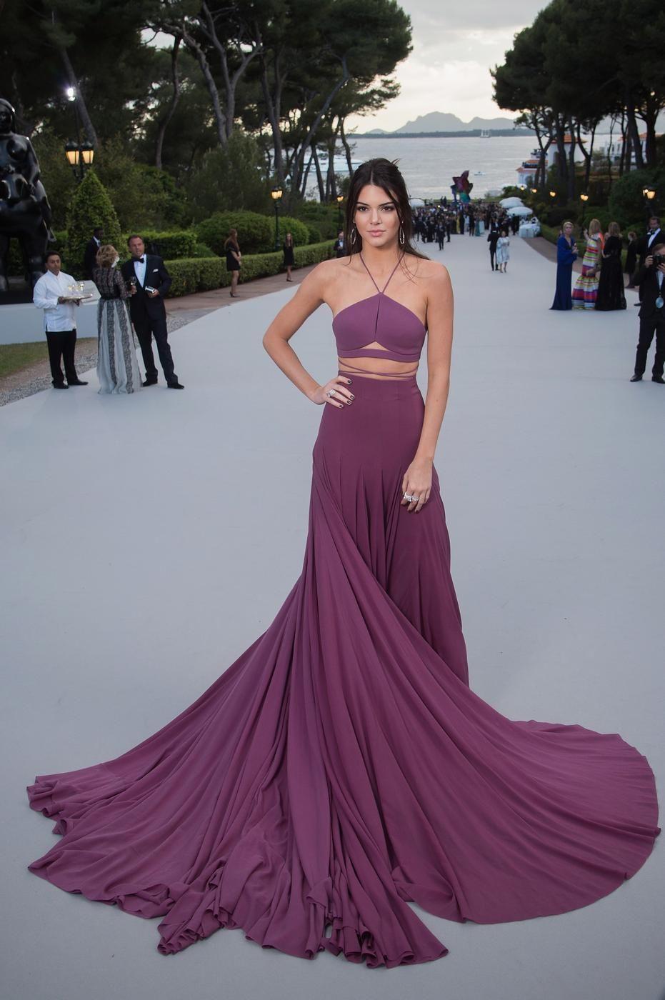 Kendall Jenner just won the Cannes red carpet | Vestidos de fiesta ...