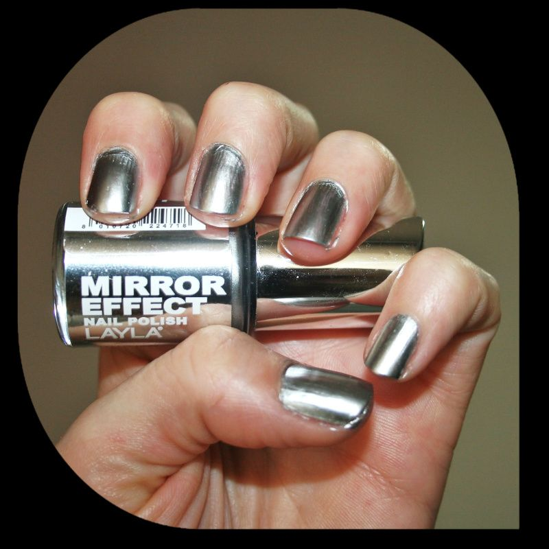 Layla Mirror Effect Nail Arts Pinterest Mani Pedi And Face Hair