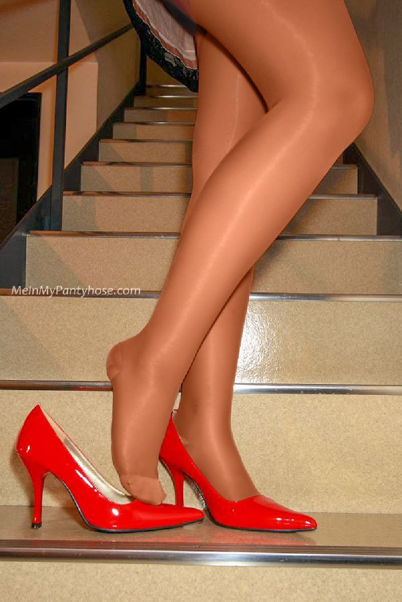 The ideal Under my pantyhose feet remarkable