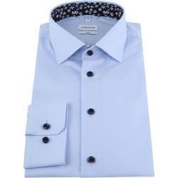 Seidensticker Hemd Slim Blau Seidensticker