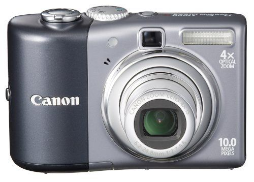 Canon Powershot A1000is 10mp Digital Camera With 4x Optical Image Stabilized Zoom Grey You Can Find More Details B Digital Camera Best Digital Camera Camera
