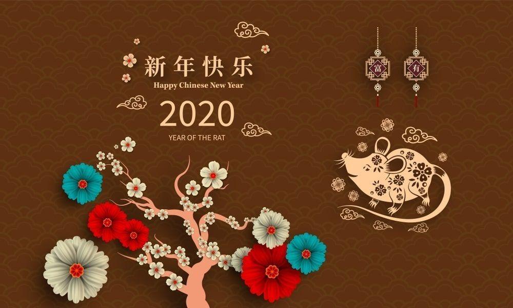 Imagenes de Año nuevo Chino la Rata en 2020 Año nuevo