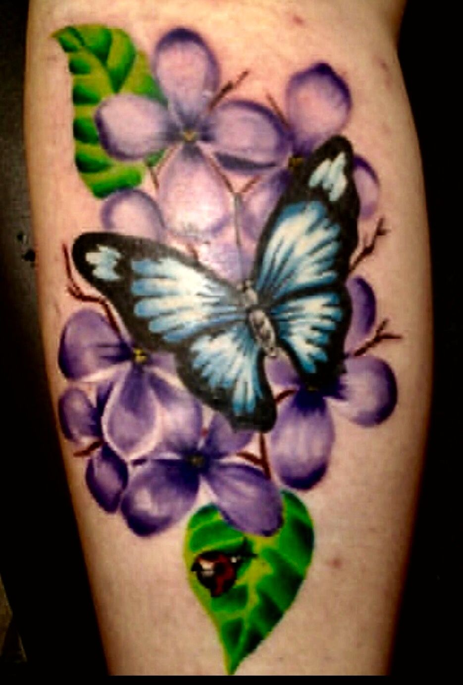 Lilacs Butterfly Tattoo Lilac Tattoo Butterfly Tattoo Tattoos For Women Flowers