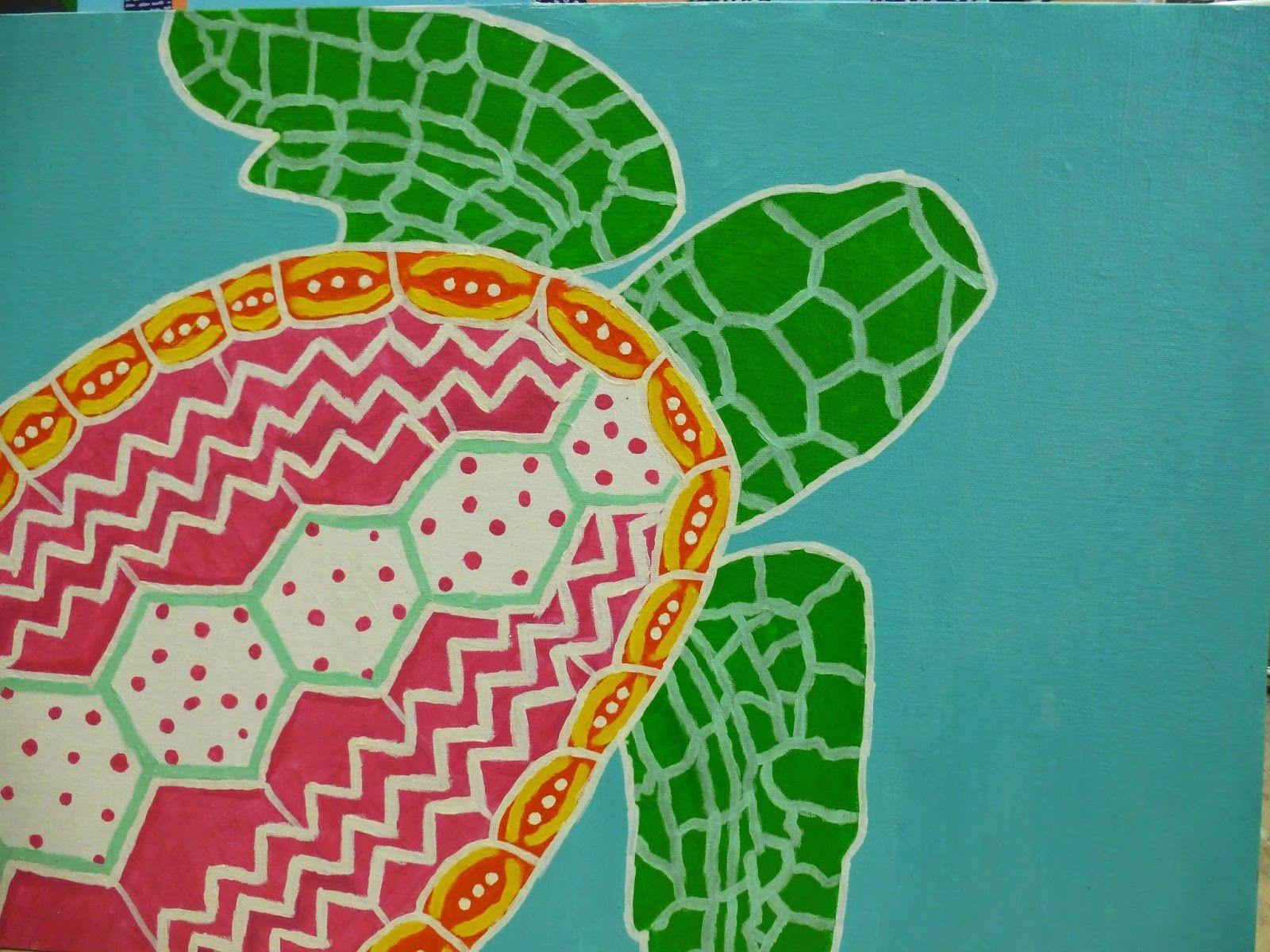 The Calvert Canvas: Adventures in Middle School Art! Leuke ideeën voor de bovenbouw.