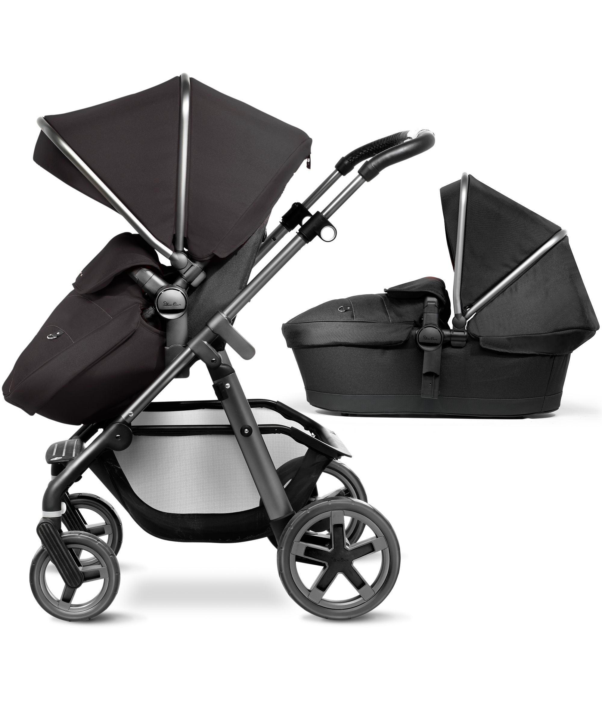 nursery bedding Silver cross pioneer, Baby strollers
