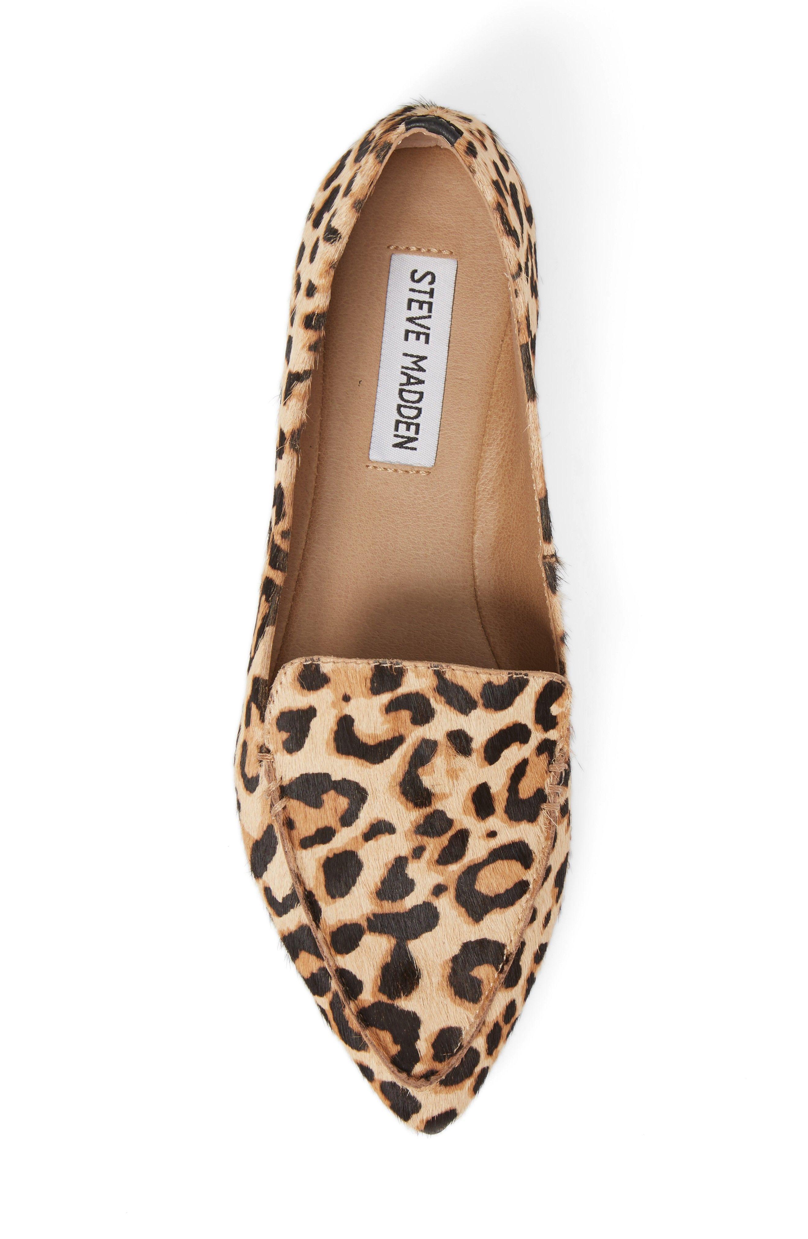 39e0b117471 Steve Madden Leopard Print Loafer