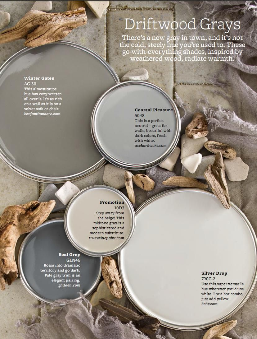 Driftwood grays color palette i would use true value paints promotion on moms walls