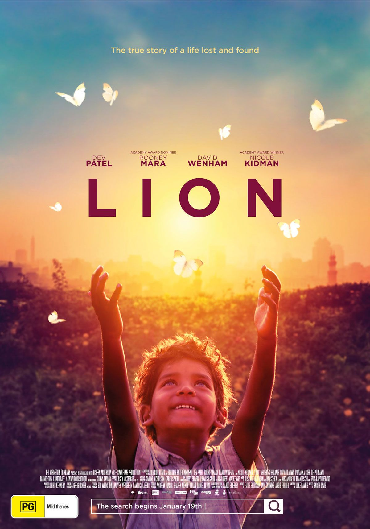 LION (2016) // A biographical drama film directed by Garth ...