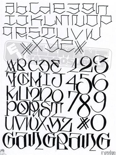 Graffiti Alphabet Big Sleeps Kill 2 Succeed By Professional Tattoo Artist And Used For Getting Ideas