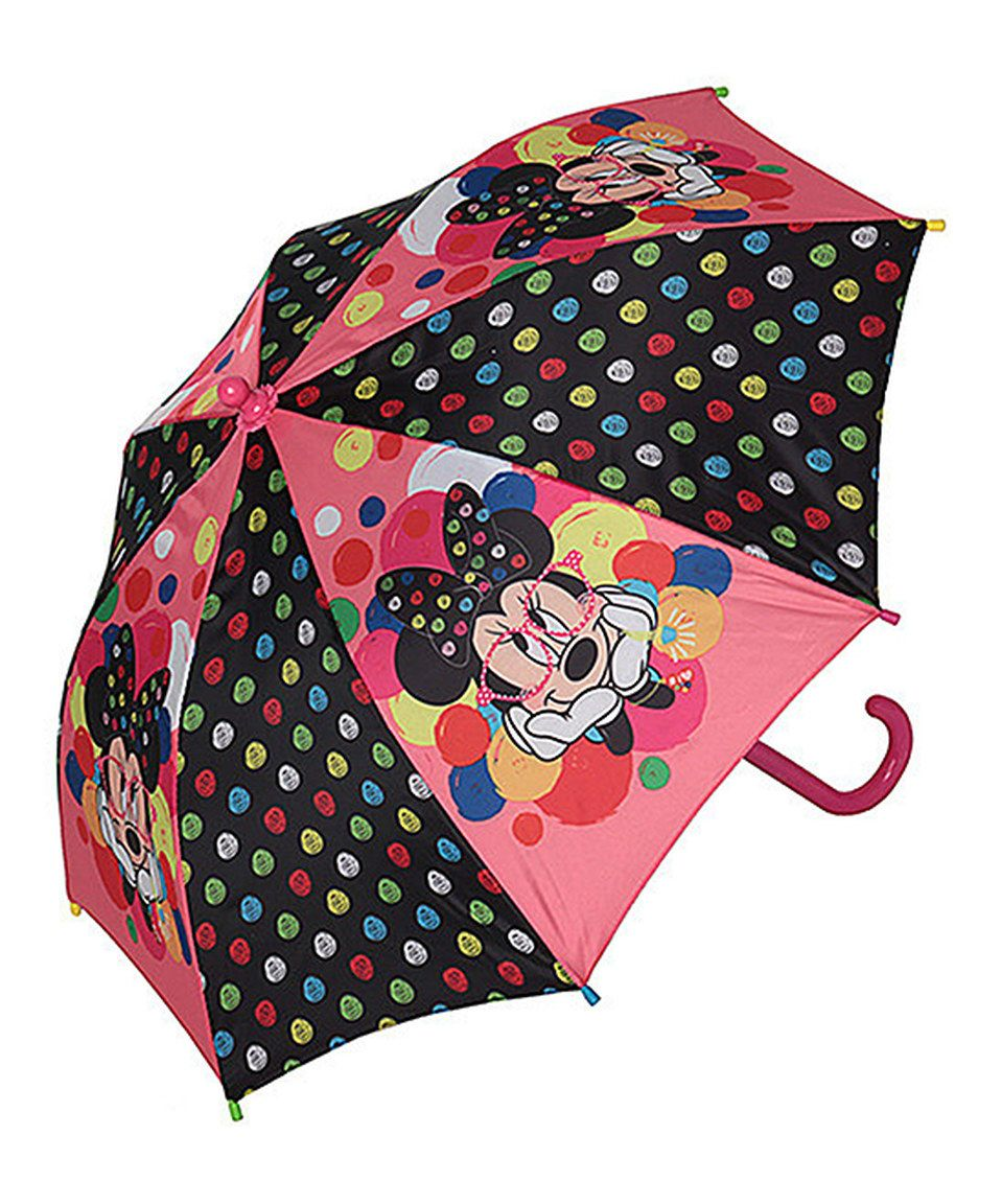 0fe54e52bb3b5 Love this DISNEY MINNIE MOUSE NERD UMBRELLA by Mickey Mouse   Minnie Mouse  on  zulily!  zulilyfinds
