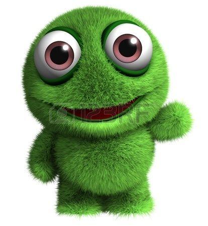 3d Cartoon Cute Monster Toy Cute Monsters Cute Alien Cartoon Monsters