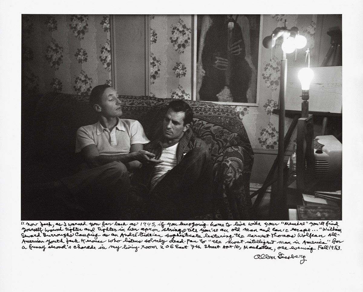 Allen Ginsberg And Jack Kerouac