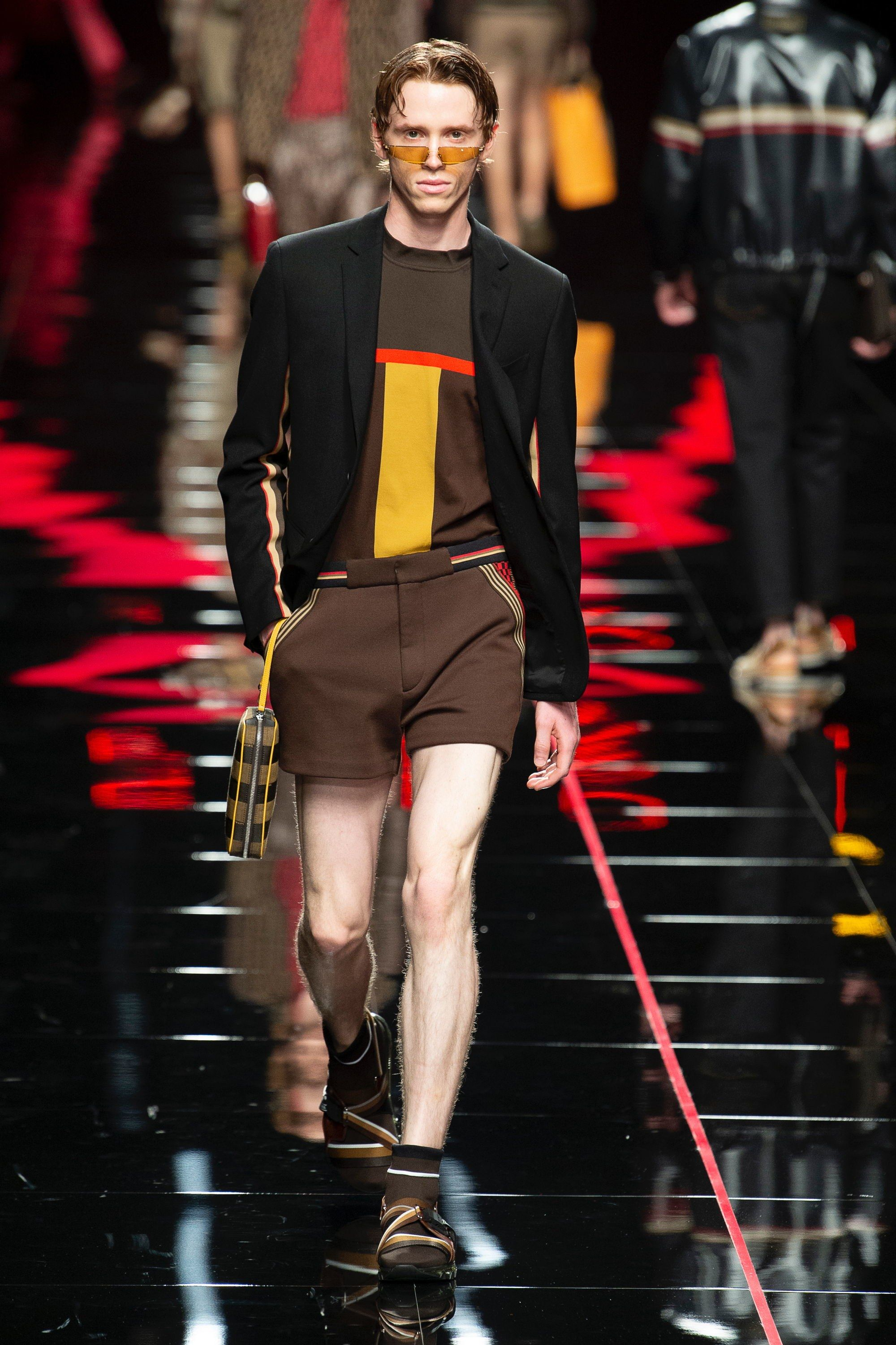 2fc5f13a2eea Fendi Spring 2019 Menswear Fashion Show   Wear Design S S   Menswear ...