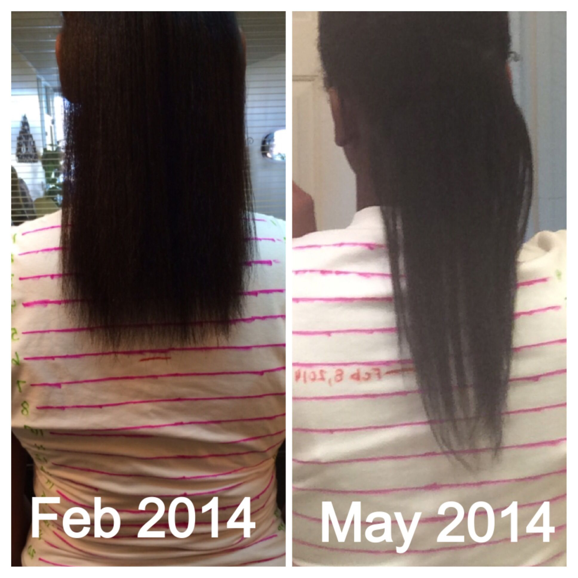 Hairfinity Before And After Hairfinity Relaxed Hair Growth Hairfinity Relaxed Hair