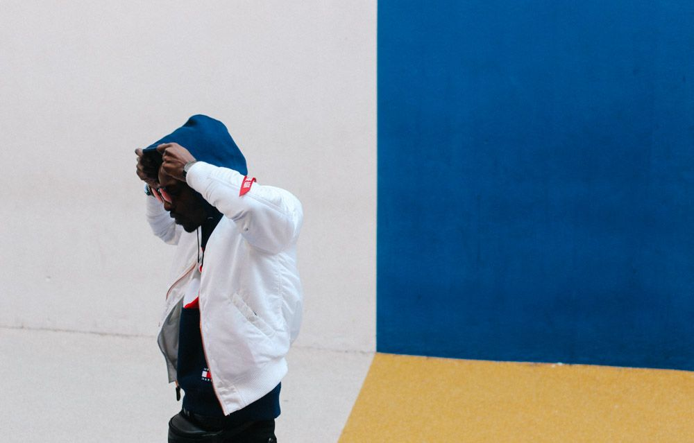 Paris Street Style at Pigalle Basketball court