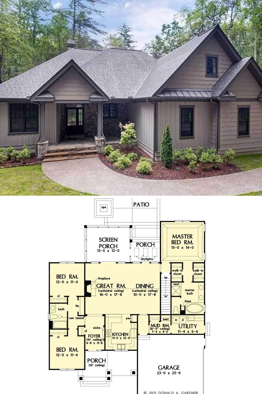 3 Bedroom Ranch Single Story The Eleanor Home Floor Plan Floor Plans Mansion Floor Plan Bungalow House Plans