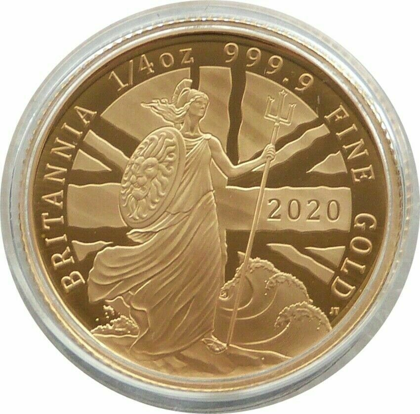 2020 Great Britain British Royal Mint Gold Proof Full Sovereign Coin Box Coa