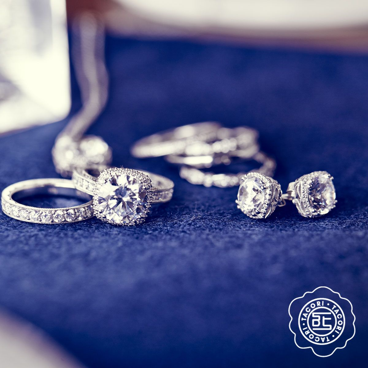 #Tacori #Engagement #Ring James and Sons Jewelers Orland Park, Lincoln Park, Schererville