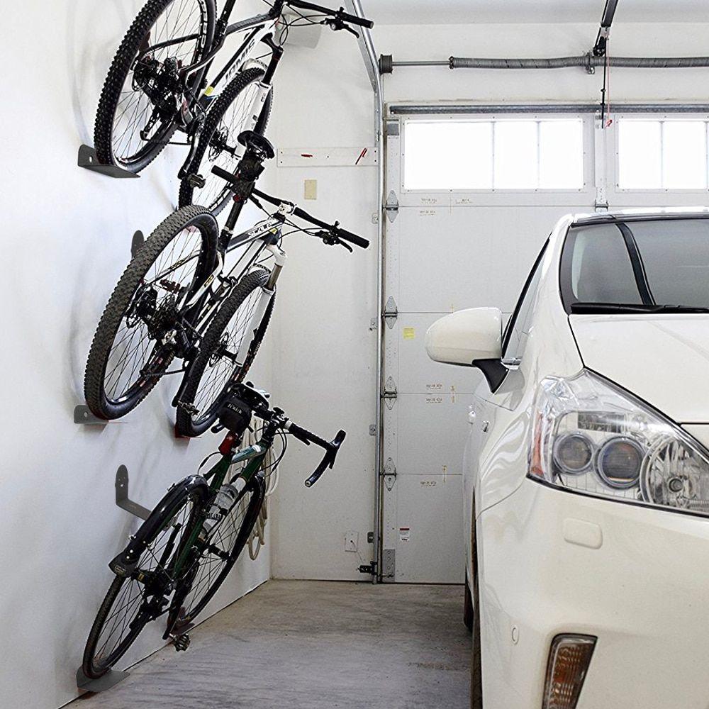 Soporte de Pared Para Bicicleta soporte para rueda de bicicleta colgador bicicleta pared para almacenamiento en interiores en garaje o casa