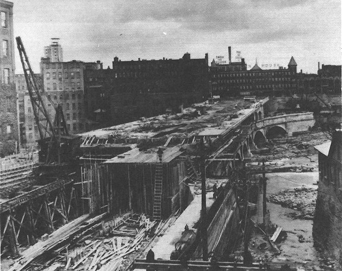 Building The Rochester Ny Subway Aka Rochester Industrial Rapid