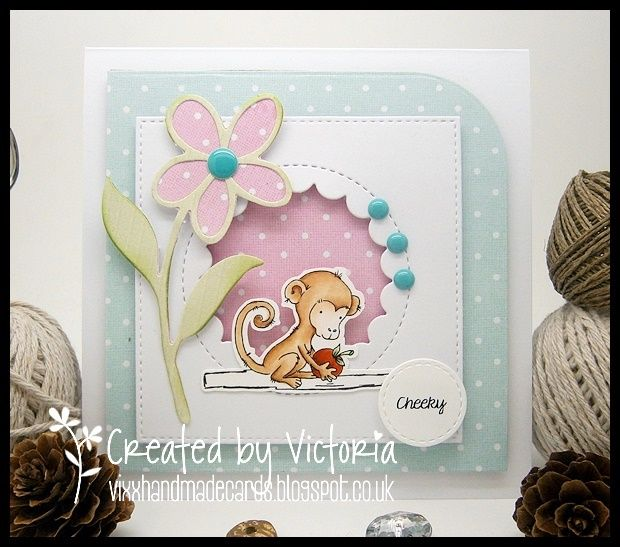 Vixx Handmade Cards: LILI OF THE VALLEY DC POST