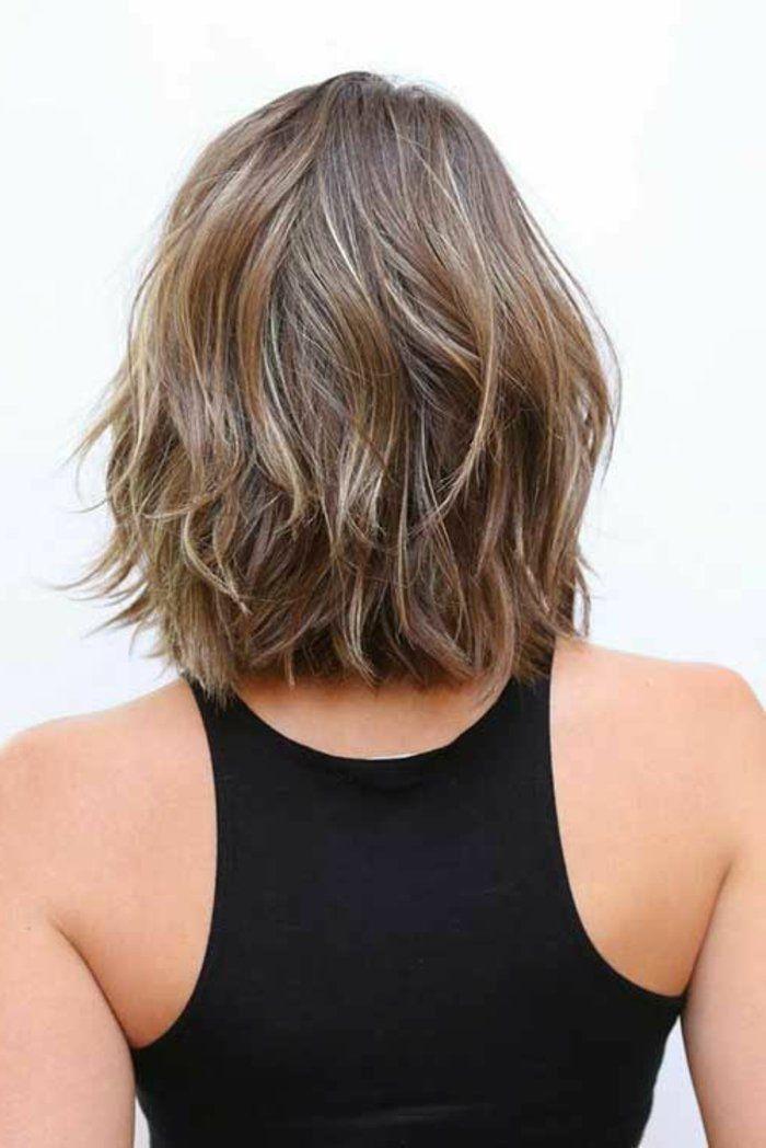 Coupe courte carr destructur femme coiffure pinterest coupe courte 2017 coiffures - Coupe carree courte femme ...