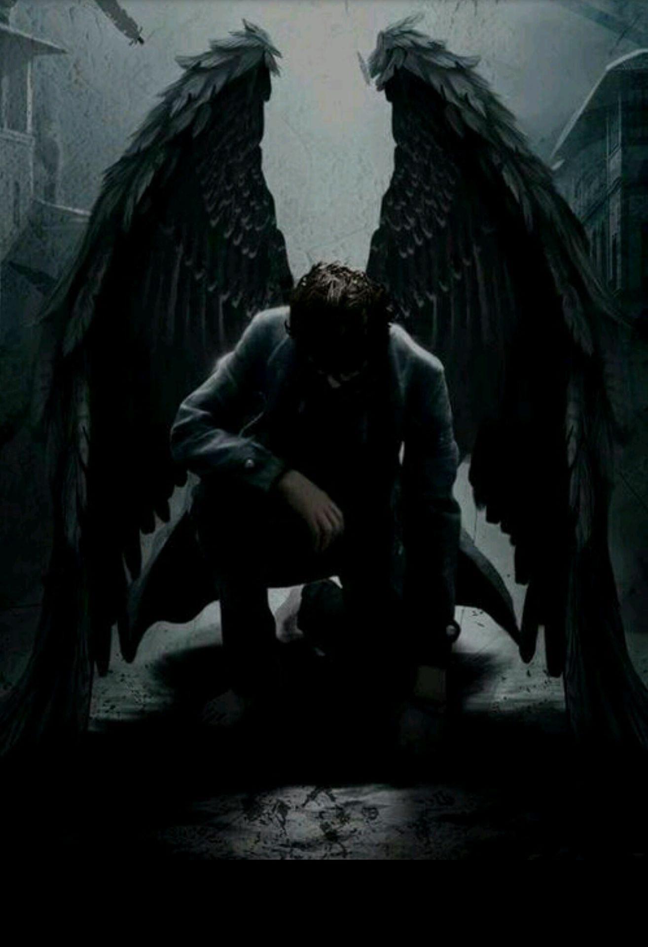 Fallen Angel Angel Artwork Demon Aesthetic Male Angels