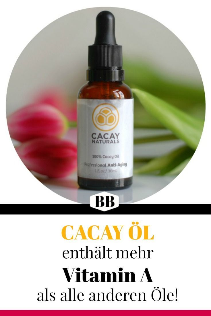 BESTE Anti-Aging GESICHTSÖLE: Cacay Öl ♡ bekämpft Falten..