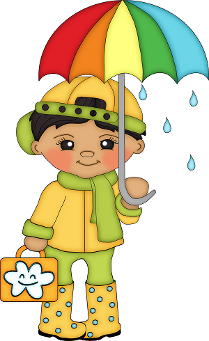 Rainy Days‿ ⁀°•• (With images) | Clip art, Cute clipart ...