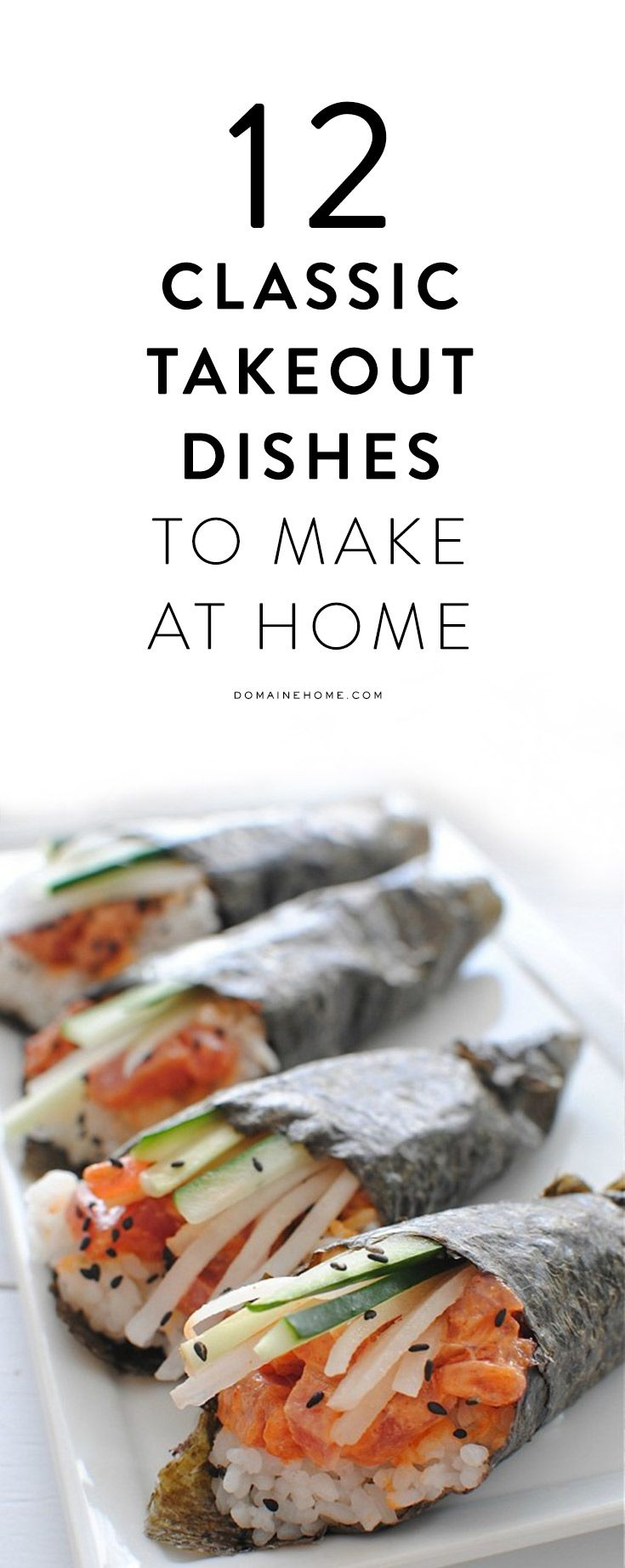 12 Classic Takeout Dishes That You Can Make at Home | Dishes, Foods ...