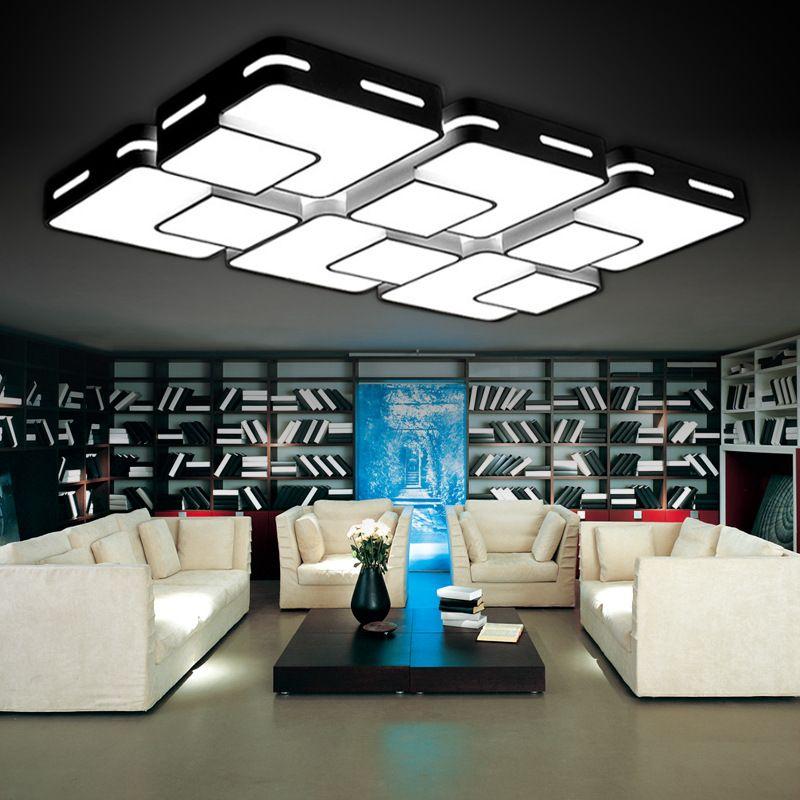 Eusolis 110 220v Ceiling Lights Living Room Lights Plafon Led - grose wohnzimmerlampe