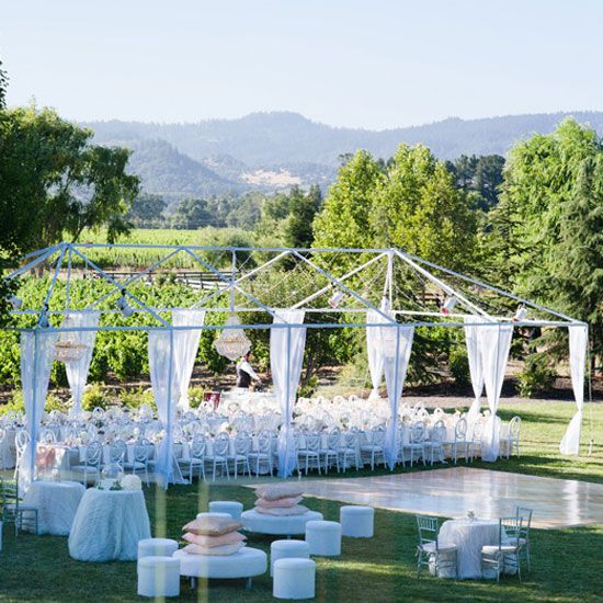 Easy, Breezy And Elegant, This Wedding Was A White Wedding