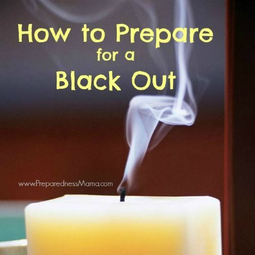 Get ready for a winter storm now. Here is sound advice from reputable sources for how to prepare for a blackout, what to do during and after a blackout. | PreparednessMama