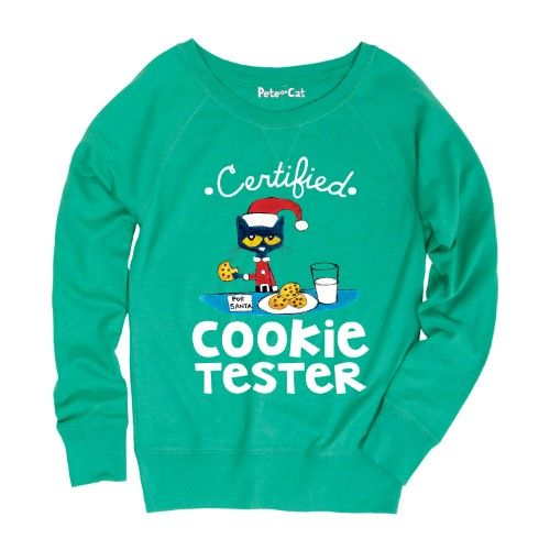 Toddler Long Sleeve Tee Pete the Cat Certified Cookie Tester