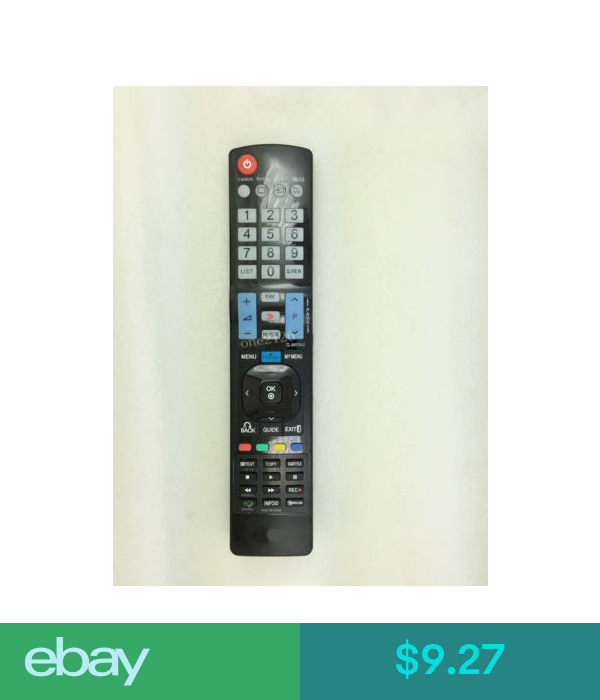 9.27 Replacement Remote Control For Lg 42Pj550 42Pj650