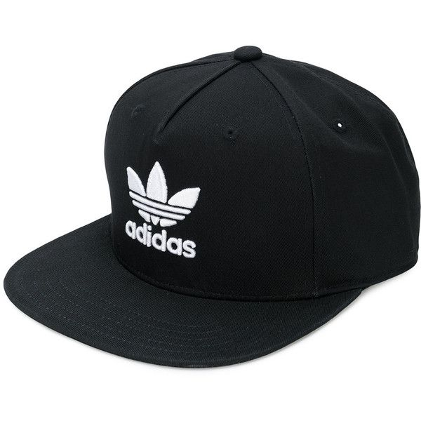 84c27fe0f96 Adidas Adidas Originals Adicolour Trefoil snapback cap (£24) ❤ liked on Polyvore  featuring accessories