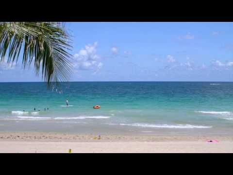 Natural Beach Audio and Video | Relaxing Videos | Beach, Beach