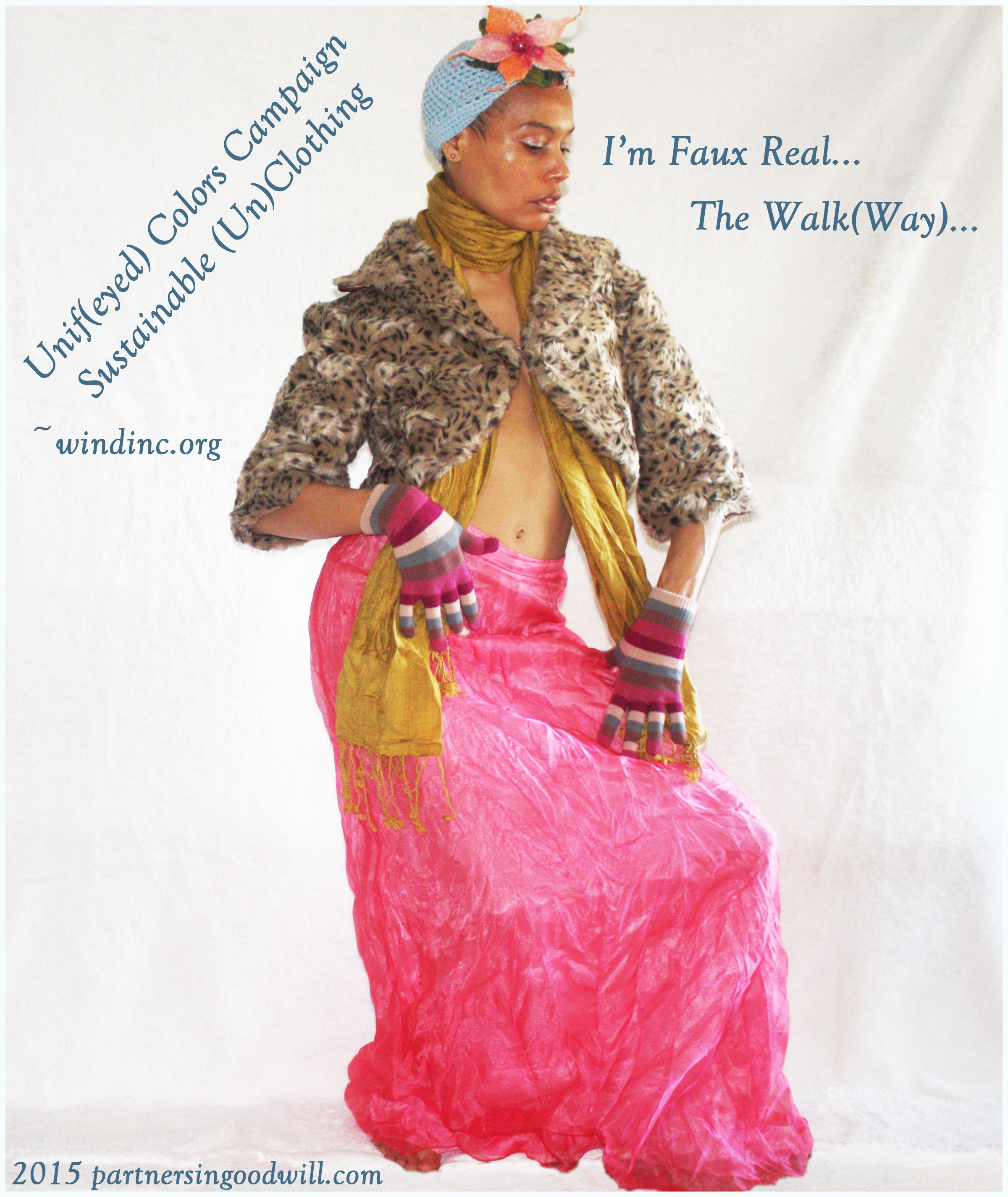 I'm Faux Real... The Walk(Way) is a concept created by