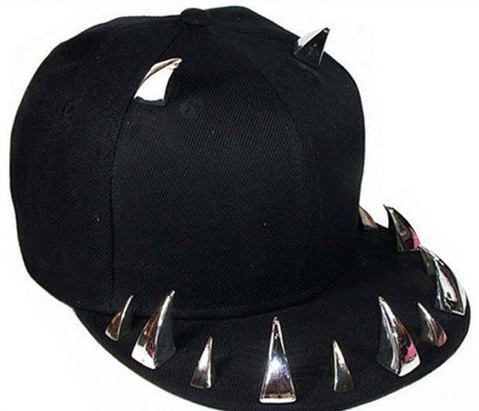 Skull therapy spiked Snapback Mad Hatter Hats fdf7c748a1c9