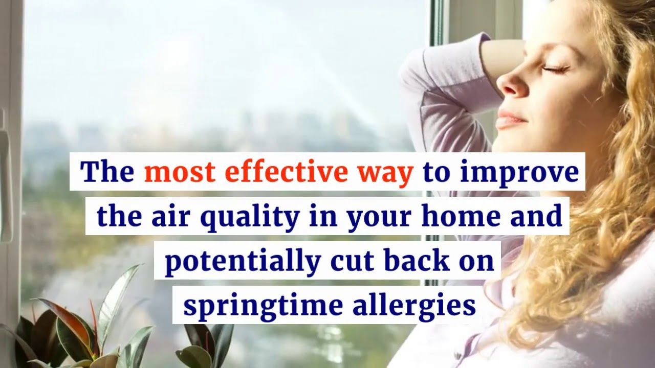 How to Improve Indoor Air Quality and Survive Seasonal