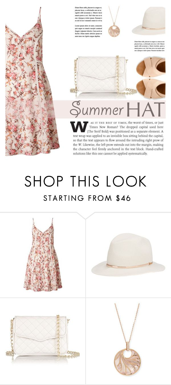 """Top It Off: Summer Hats"" by katsin90 ❤ liked on Polyvore featuring Miss Selfridge, Janessa Leone, Rebecca Minkoff, Frederic Sage, Clarks and summerhat"