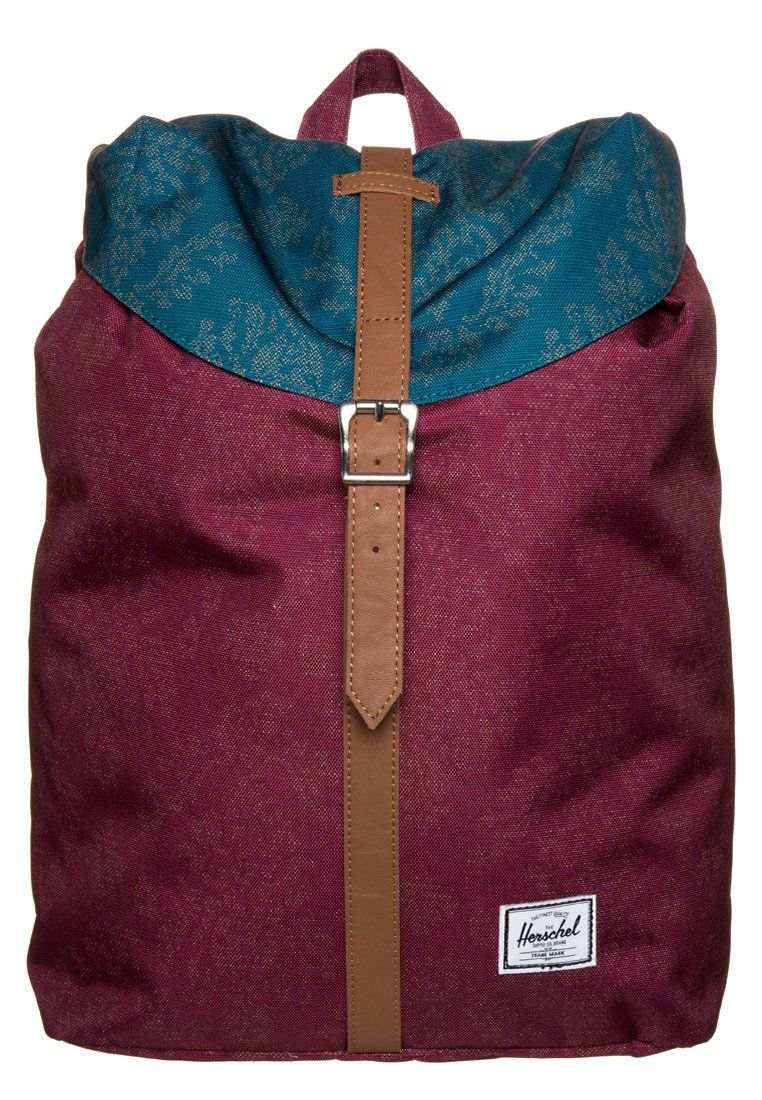764d66d22b2b Herschel Backpack Burgundy Damask- Fenix Toulouse Handball
