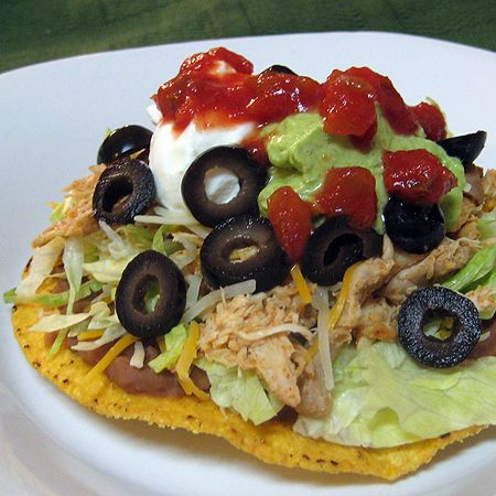 Chili Lime Tostada in the crock pot #slow #cooker #recipe